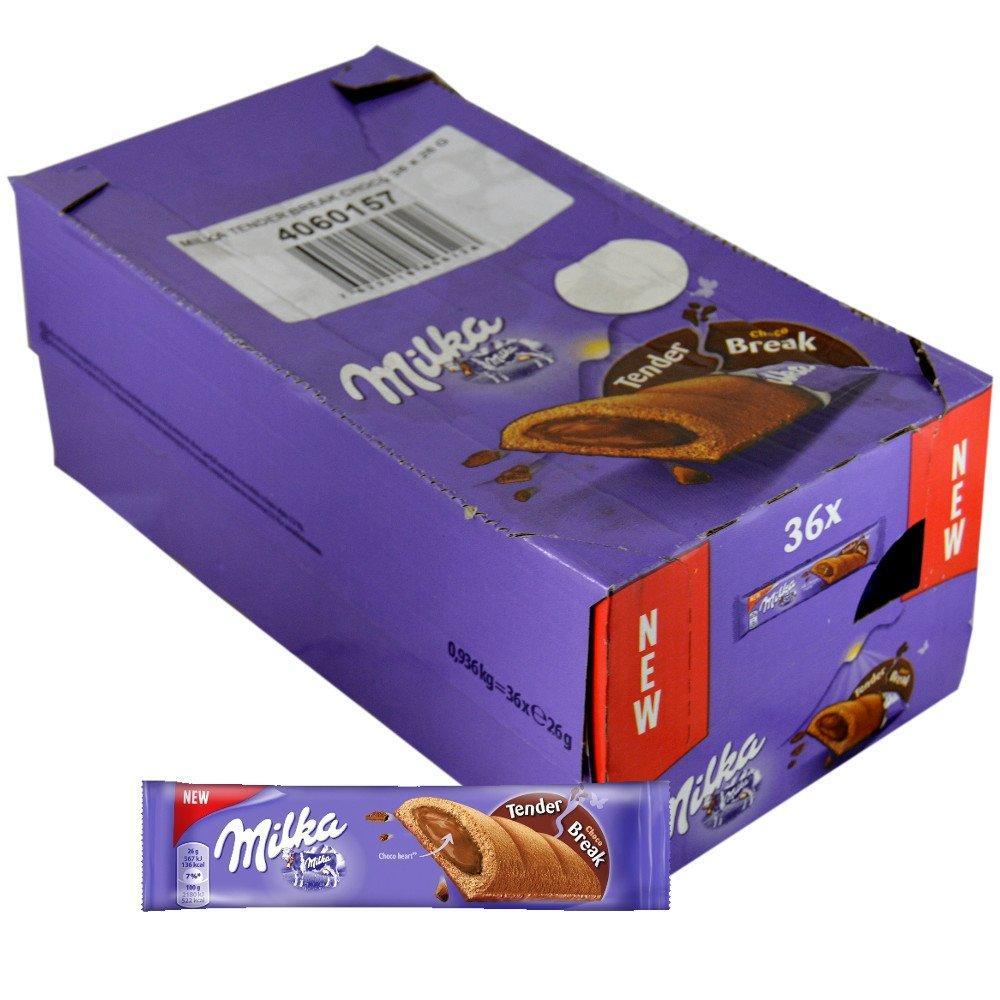 CASE PRICE  Milka Tender Break Choco 26g x 36
