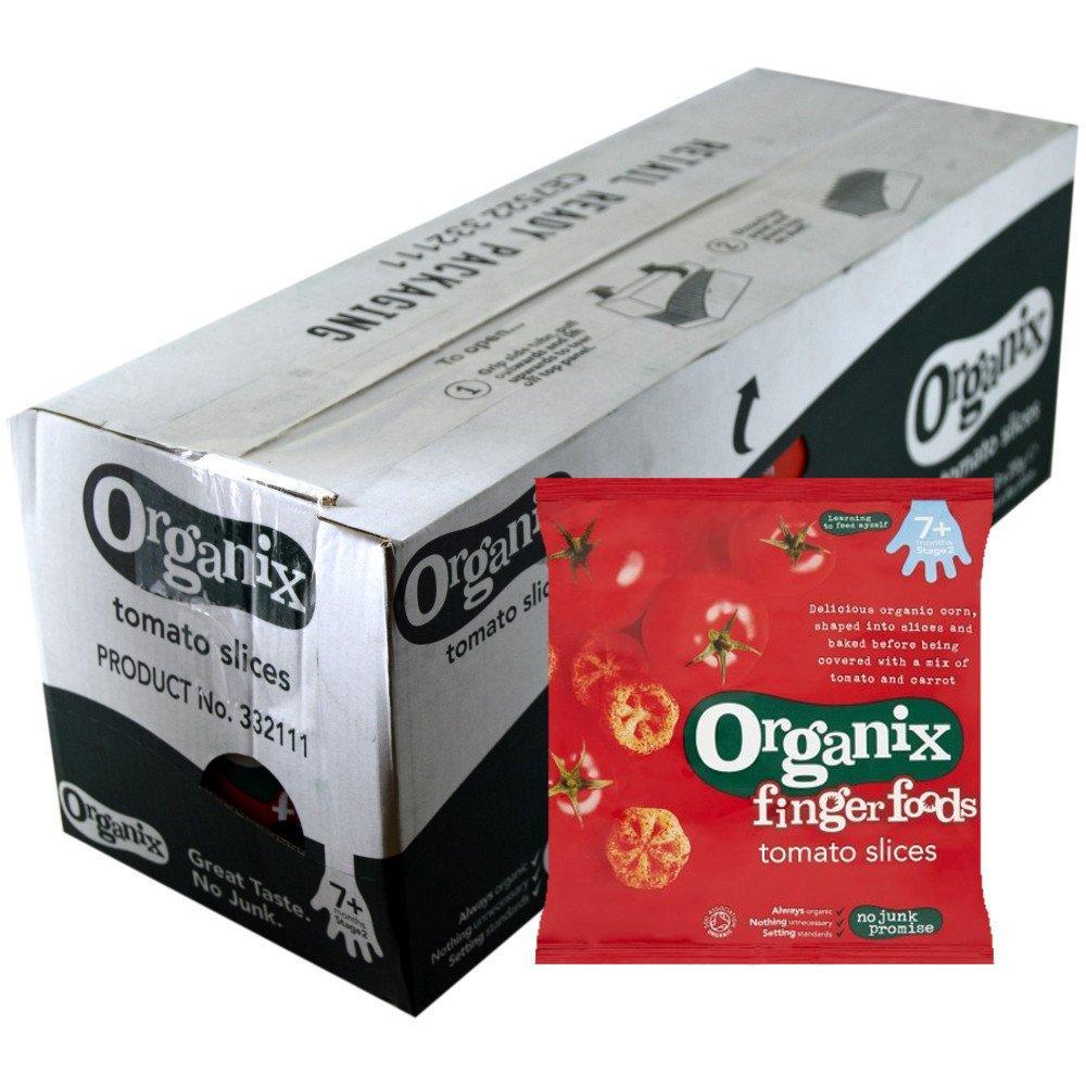 CASE PRICE  Organix Tomato Slices 20g x 8