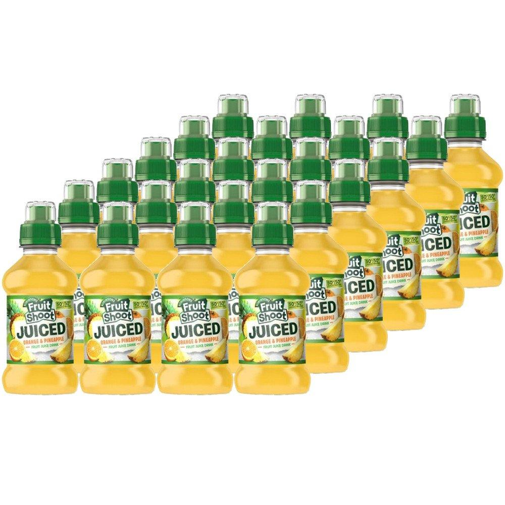 CASE PRICE  Robinsons Fruit Shoot Juiced Orange and Pineapple 200ml x 24