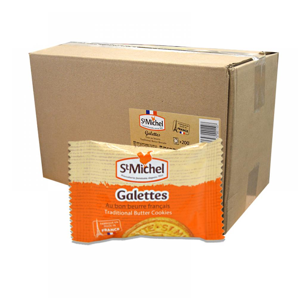 CASE PRICE  St Michel Traditional Butter Biscuits 200 x 12g