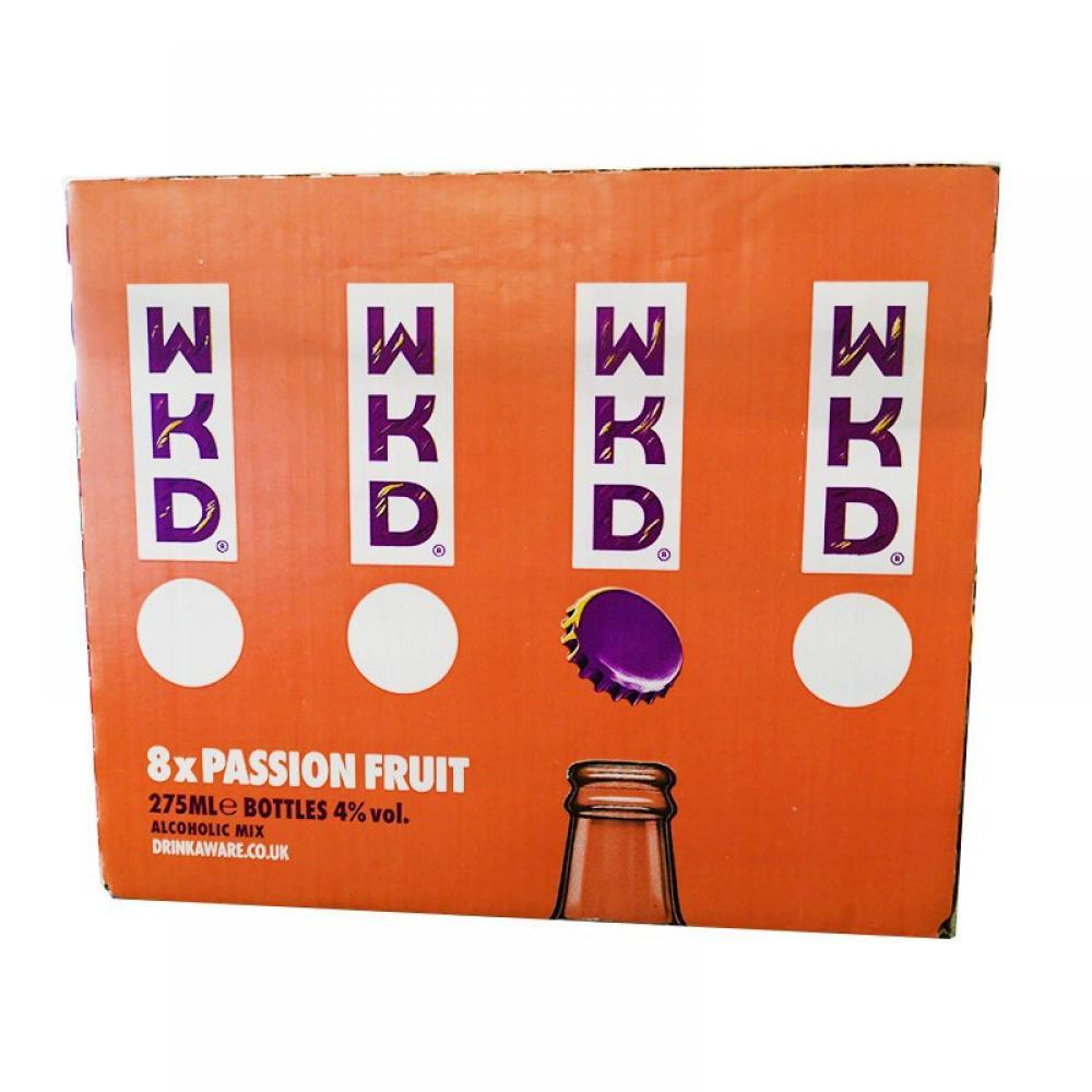 CASE PRICE  WKD Passion Fruit 275ml x 8