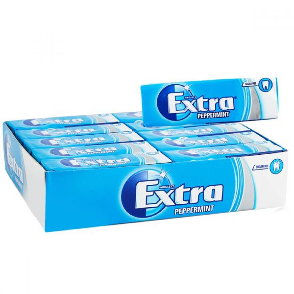 CASE PRICE  Wrigleys Extra Peppermint 10 Pieces x 30
