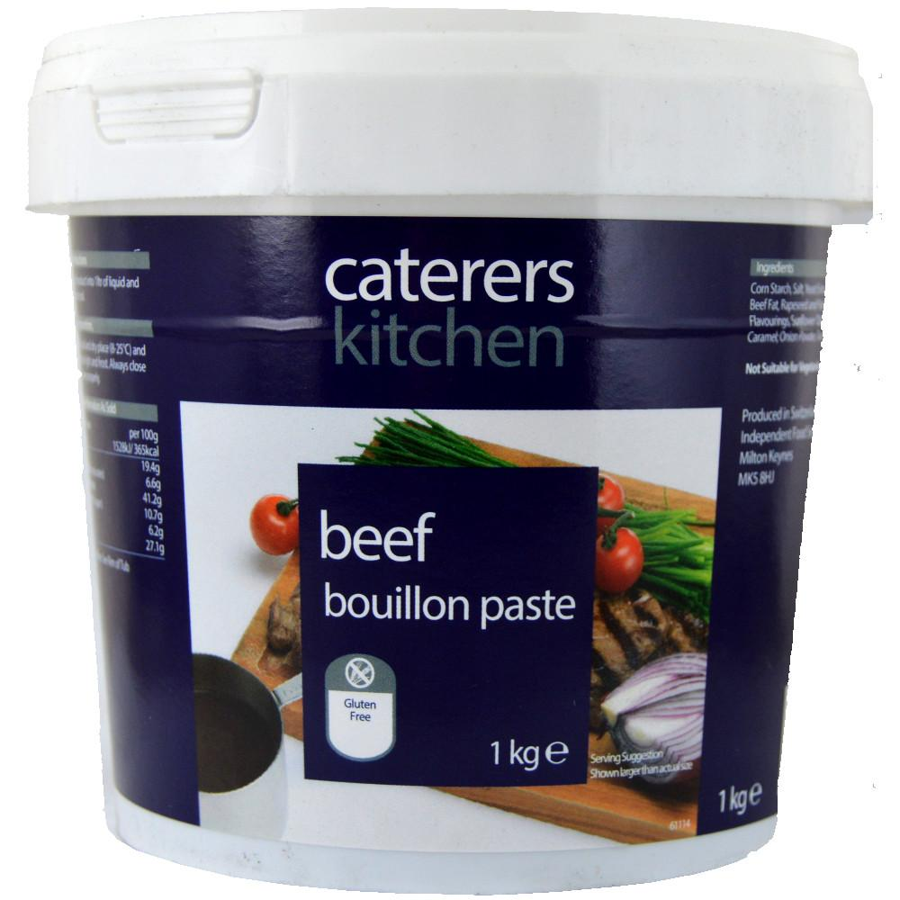 Caterers Kitchen Beef Bouillon Paste 1kg