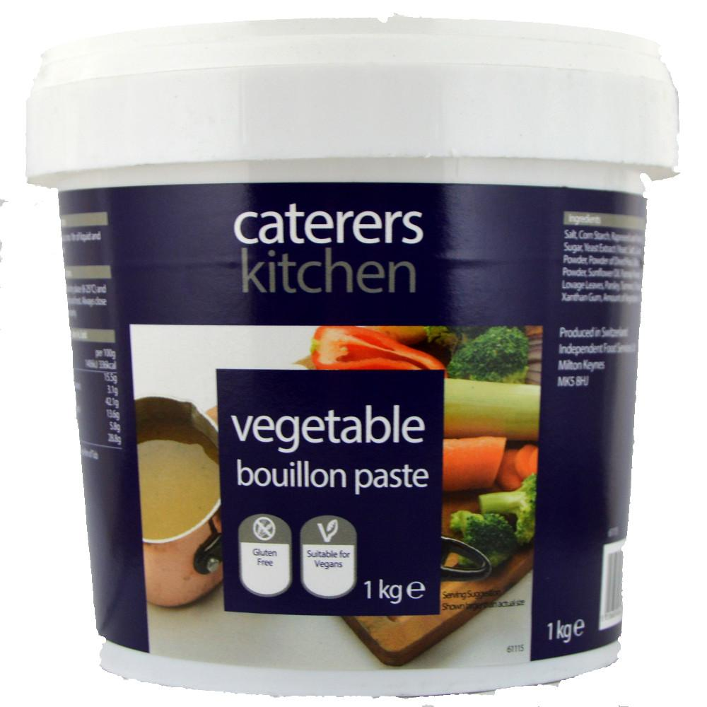 Caterers Kitchen Vegetable Bouillon Paste 1kg