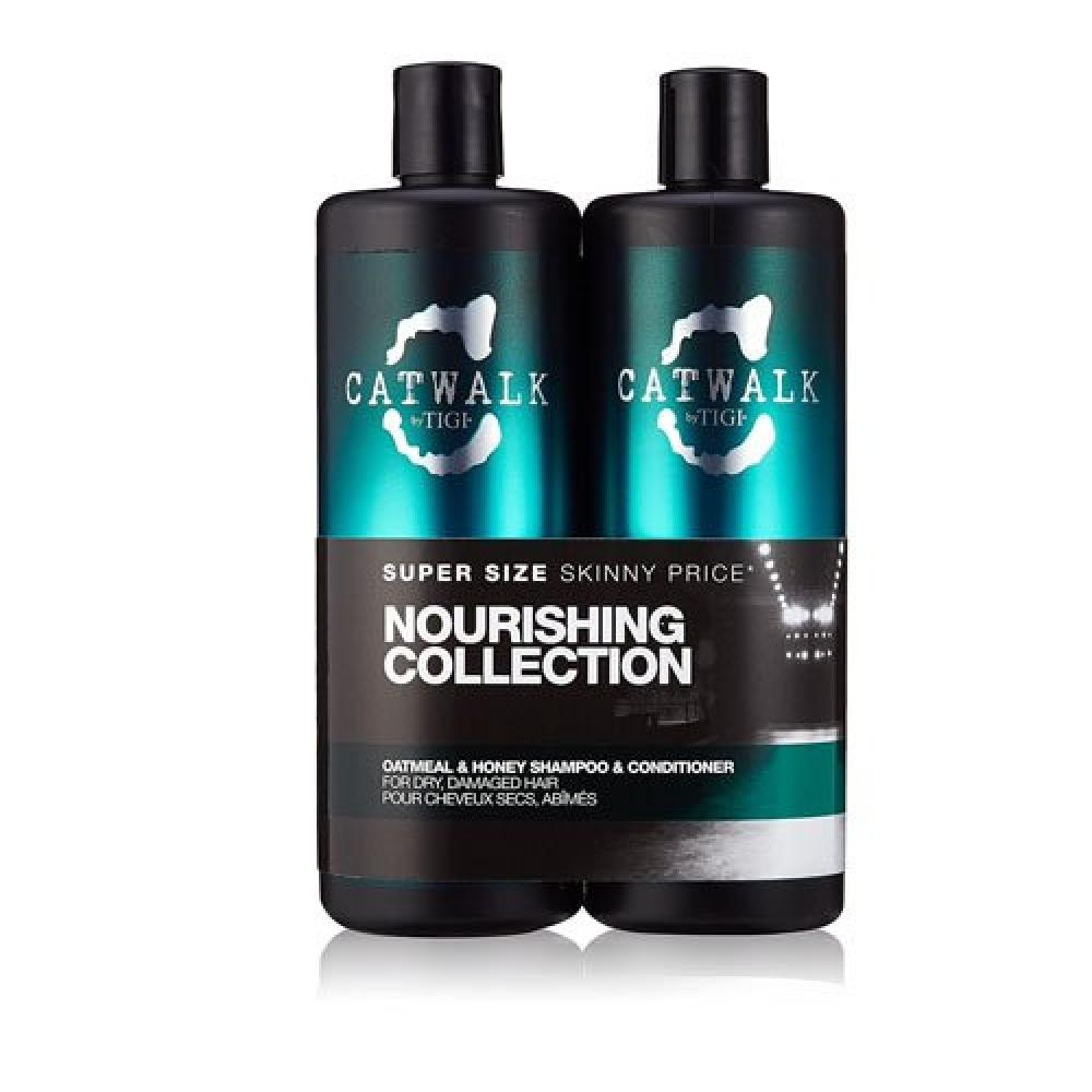 CATWALK by TIGI Oatmeal and Honey Tween Duo Shampoo and Conditioner for DryDamaged Hair 2x750 ml