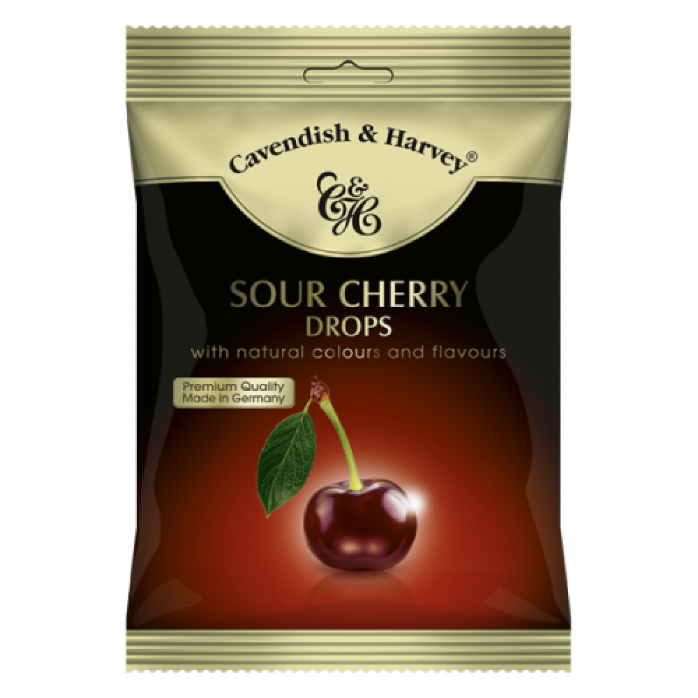 Cavendish and Harvey Sour Cherry Drops 100g | Approved Food
