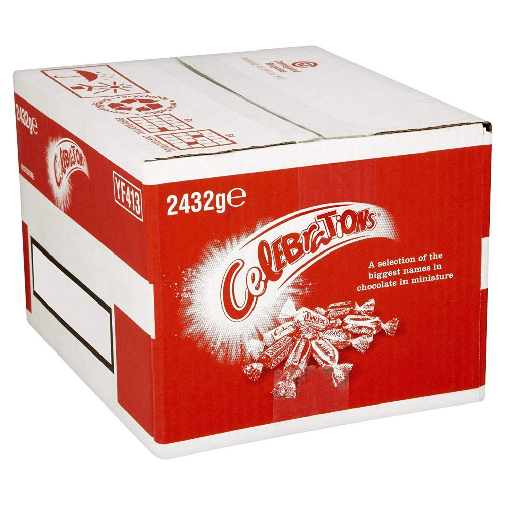 WEEKLY DEAL  Celebrations Chocolate Bulk Case 2432g