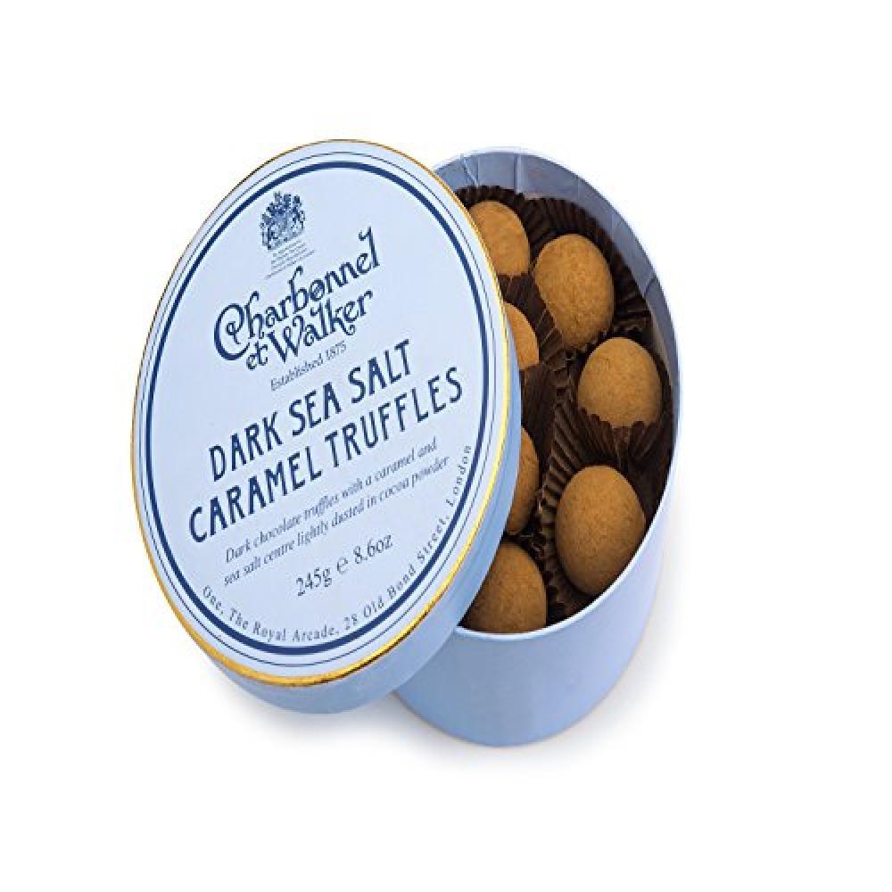 Charbonnel Et Walker Dark Sea Salt Caramel Truffles 245g