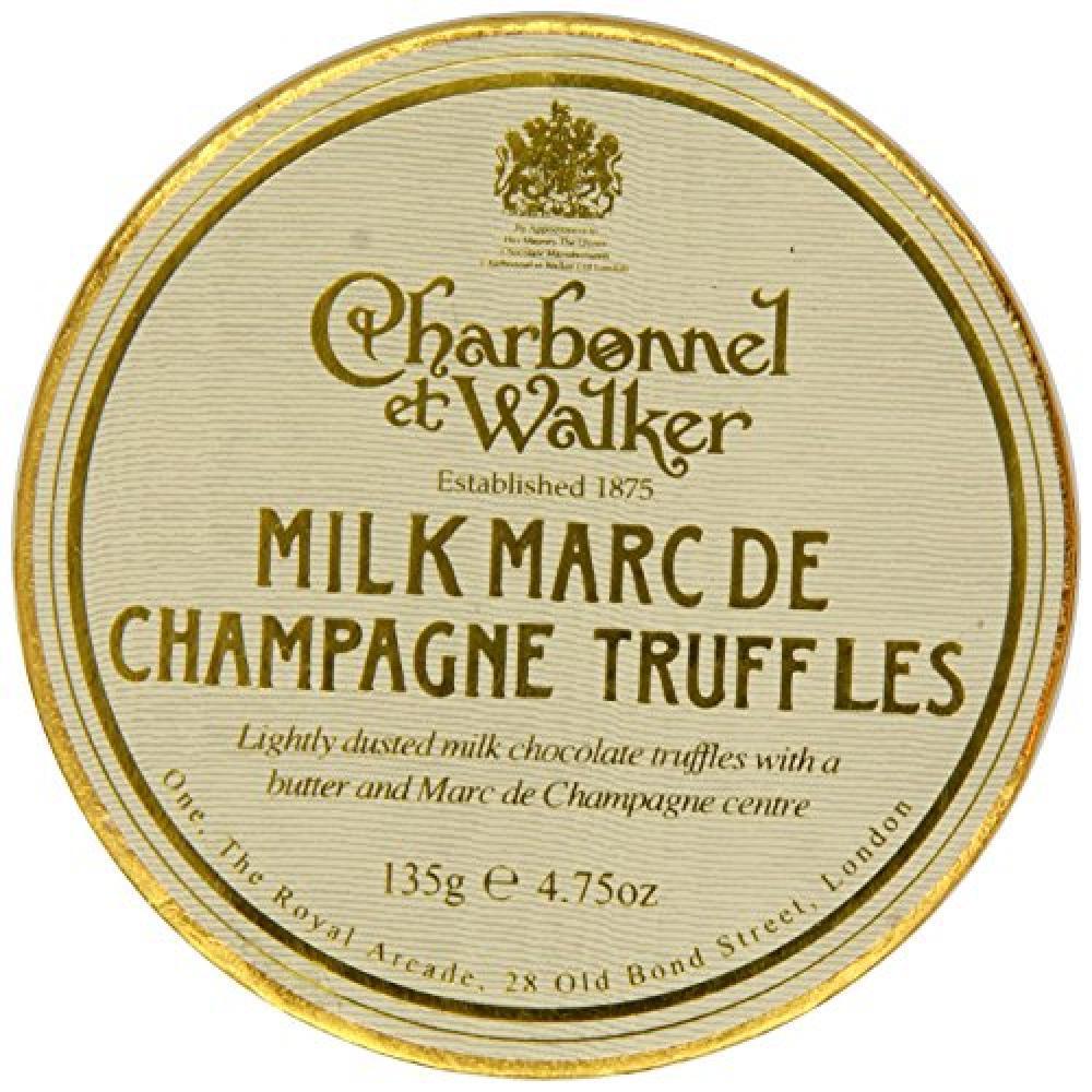 SALE  Charbonnel Et Walker Milk Marc de Champagne Truffles 135 g