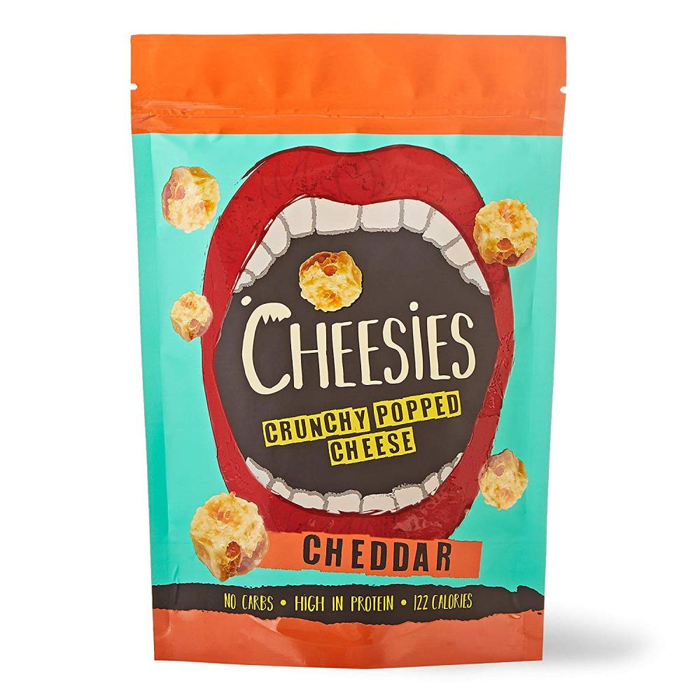 Cheesies Crunchy Popped Cheese Snack Cheddar 60 g