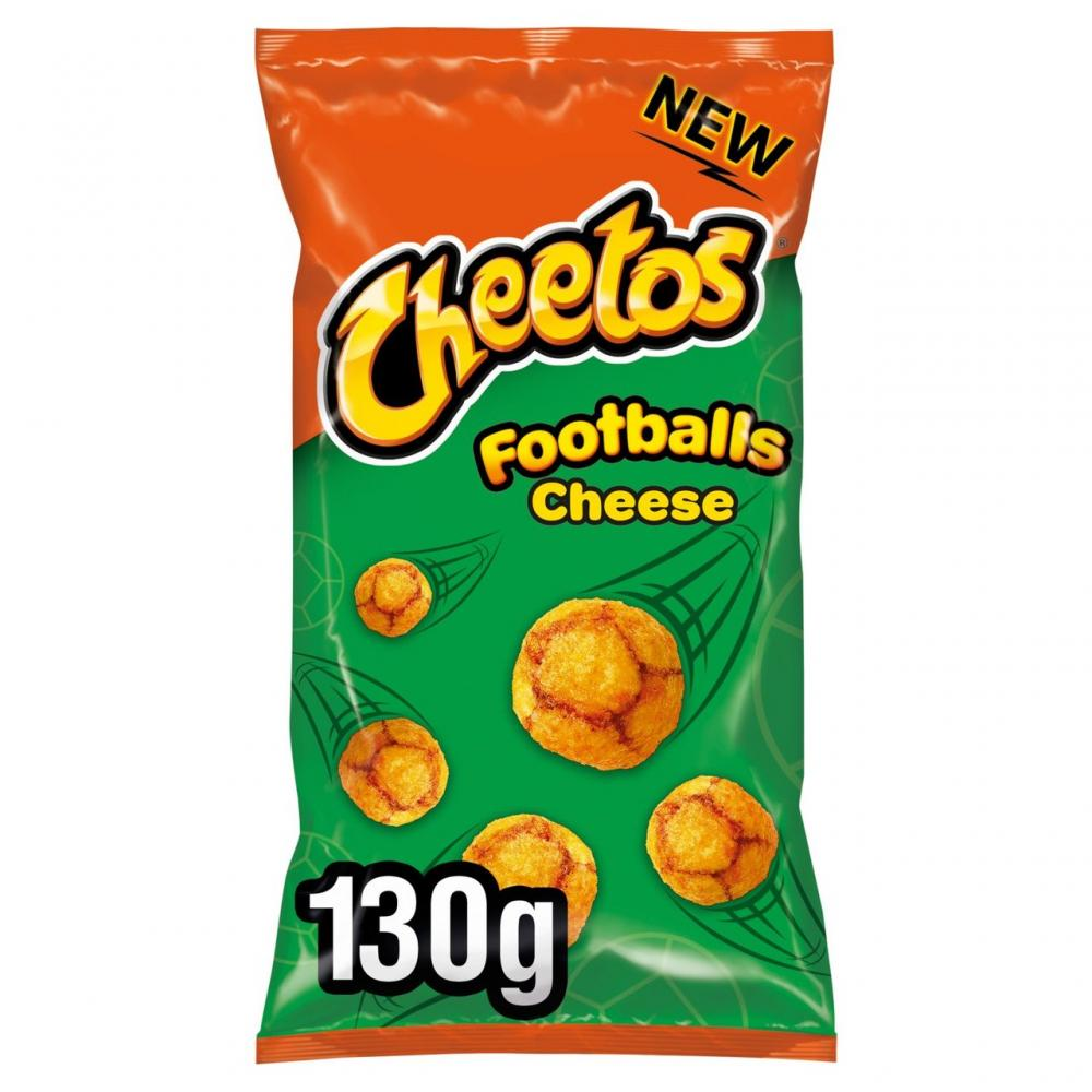 Cheetos Footballs Cheese Flavour 130g