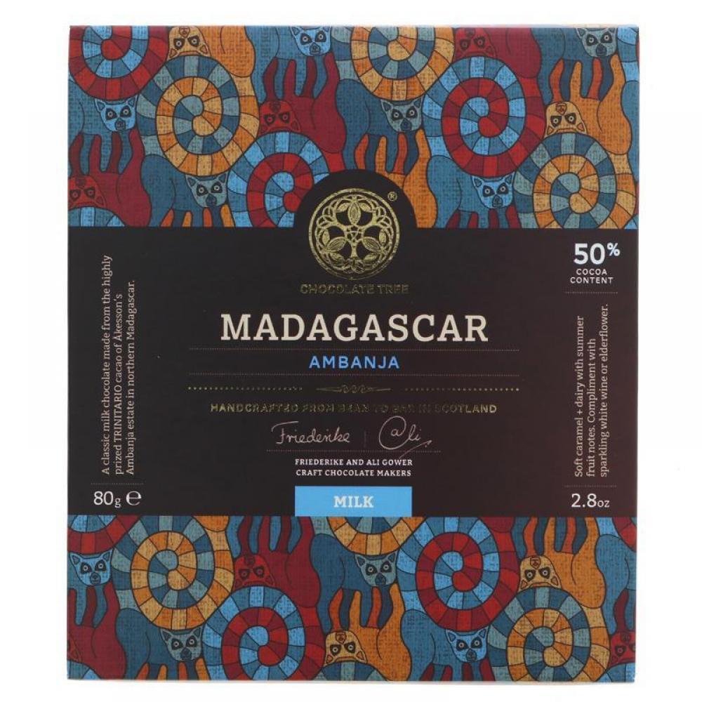 Chocolate Tree Madagascar Milk 80g