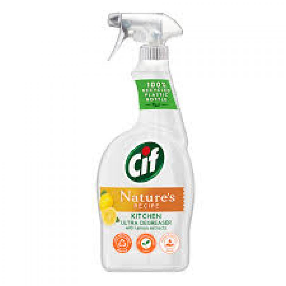 Cif Natures Recipe Kitchen Ultra Degreaser 750ml
