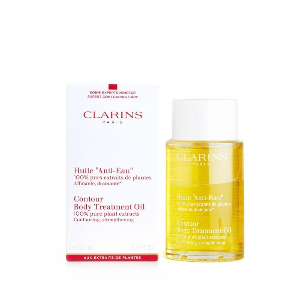 Clarins Huile Anti Eau Contour Body Treatment Oil 100 ml Damaged Box