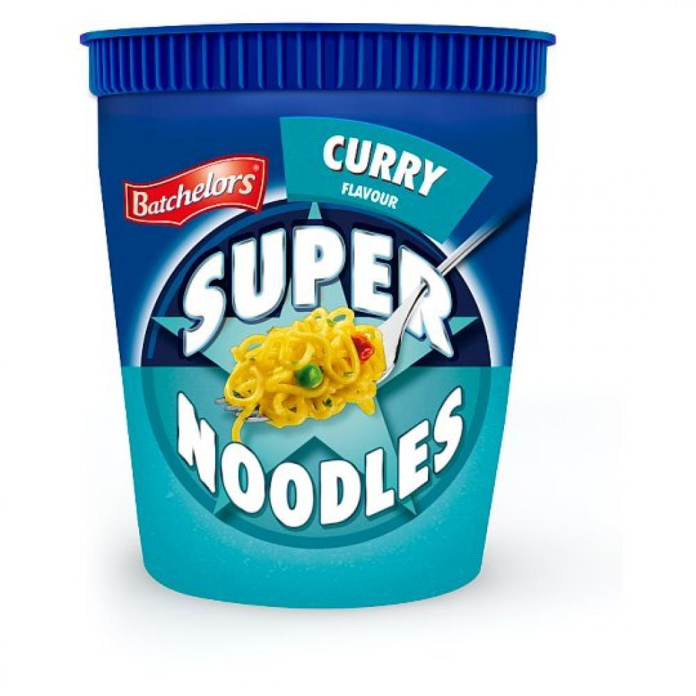 CLEARANCE  Batchelors Super Noodles Curry Flavour 75g