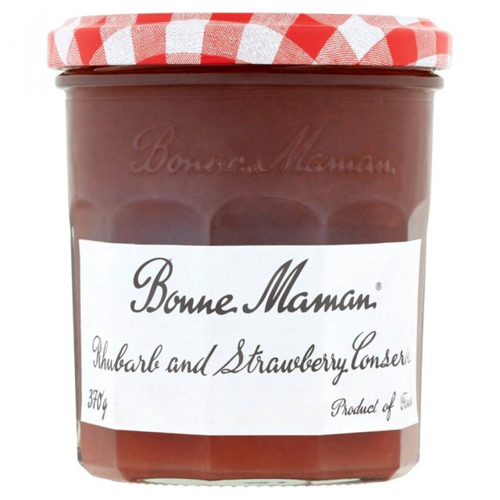 CLEARANCE  Bonne Maman Rhubarb and Strawberry Conserve 370g