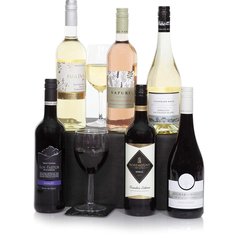Clearwater Hampers Six Bottles Wine Selection