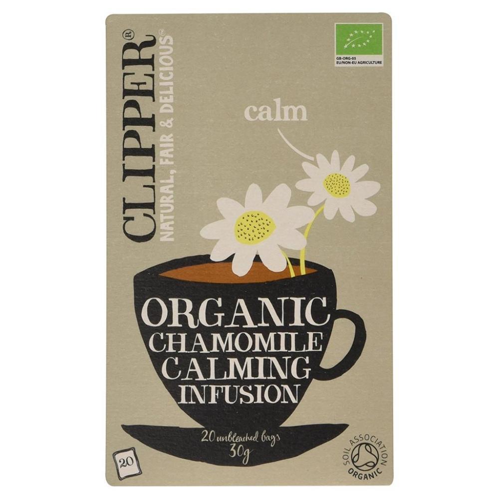 Clipper Organic Chamomie Calming Fusion 20bags
