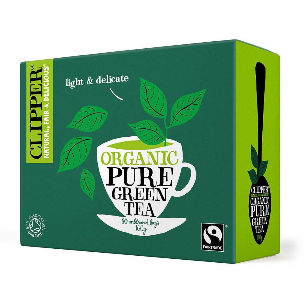 Clipper Organic Green Tea 80 Bags