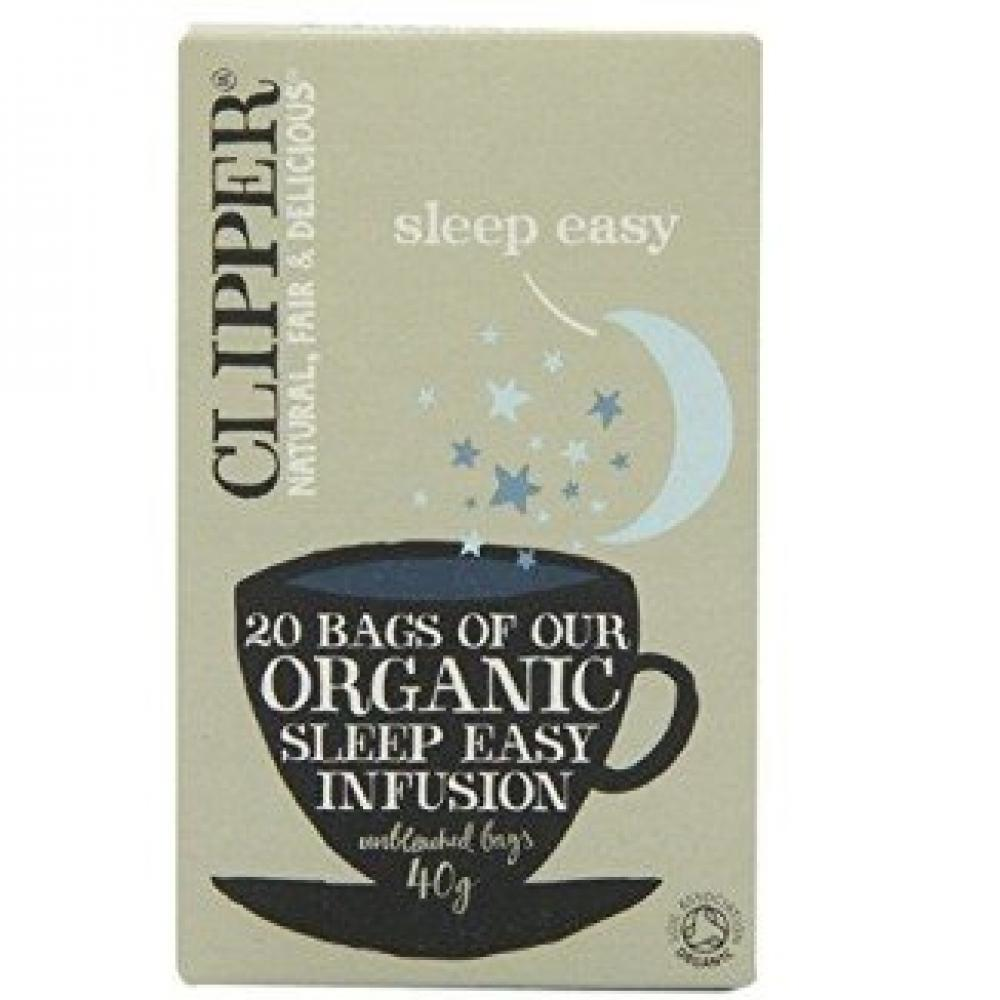 Clipper Organic Sleep Easy Infusion 20 Teabags 40g Damaged Box