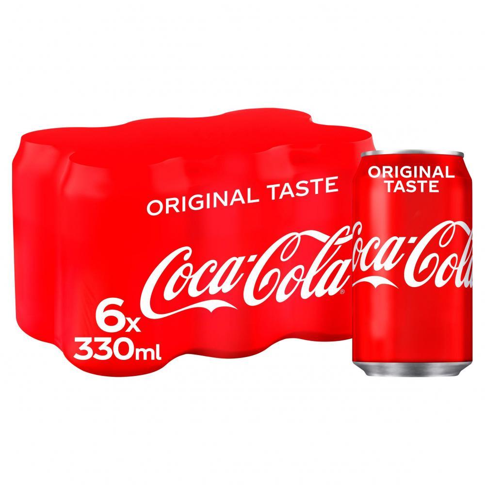 Coca Cola 6 x 330ml