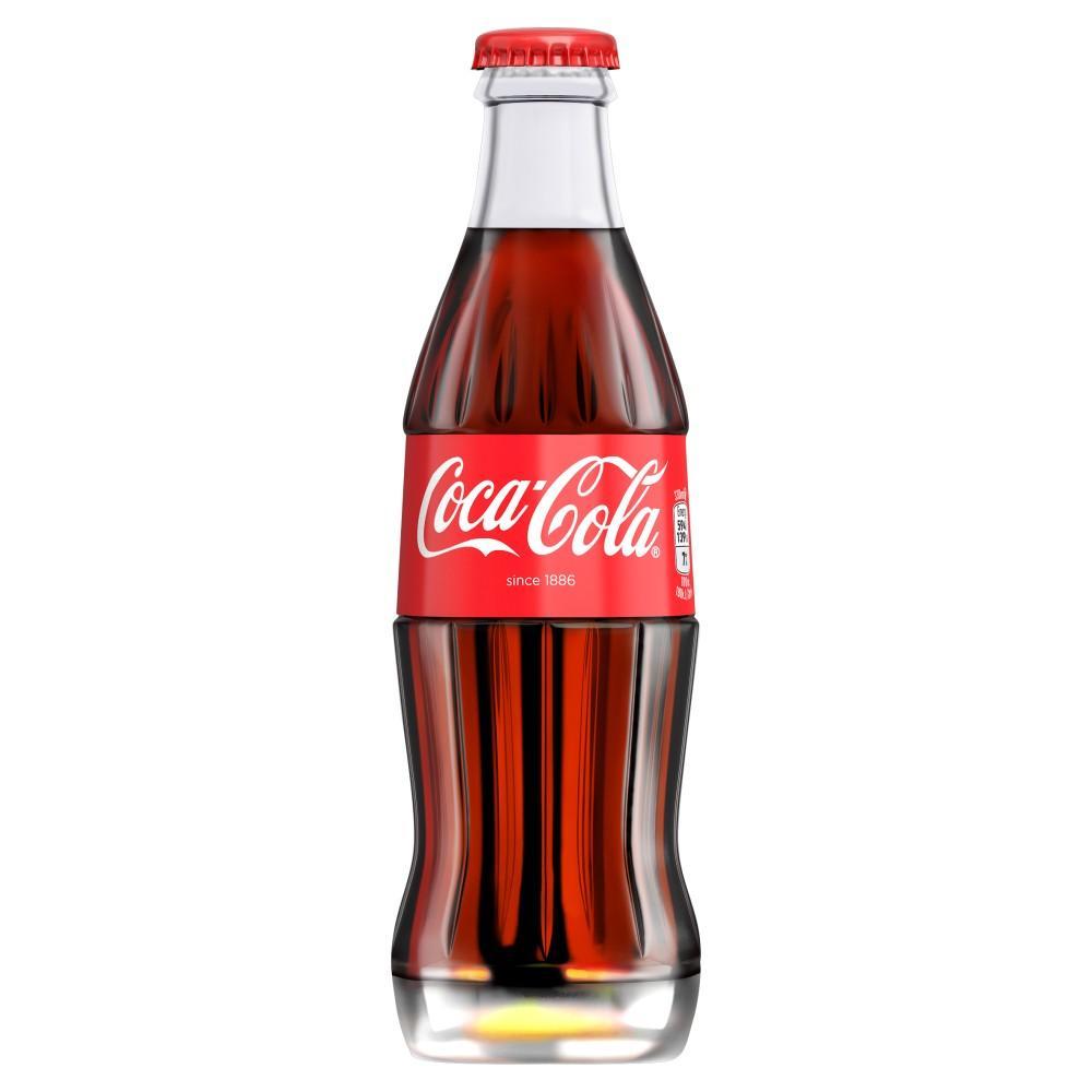 Coca Cola Glass Bottle 330ml