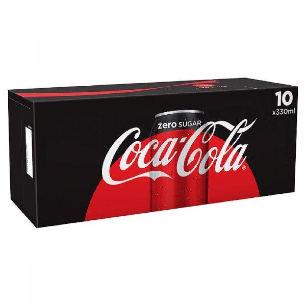 Coca Cola Zero 330ml x 10