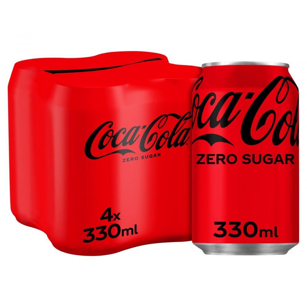 Coca Cola Zero 4 x 330ml