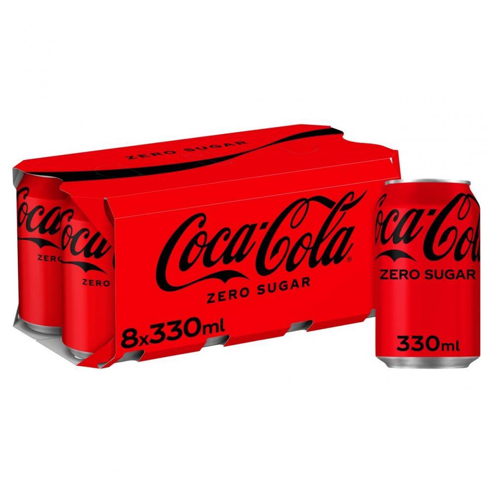 Coca Cola Zero 8 x 330ml