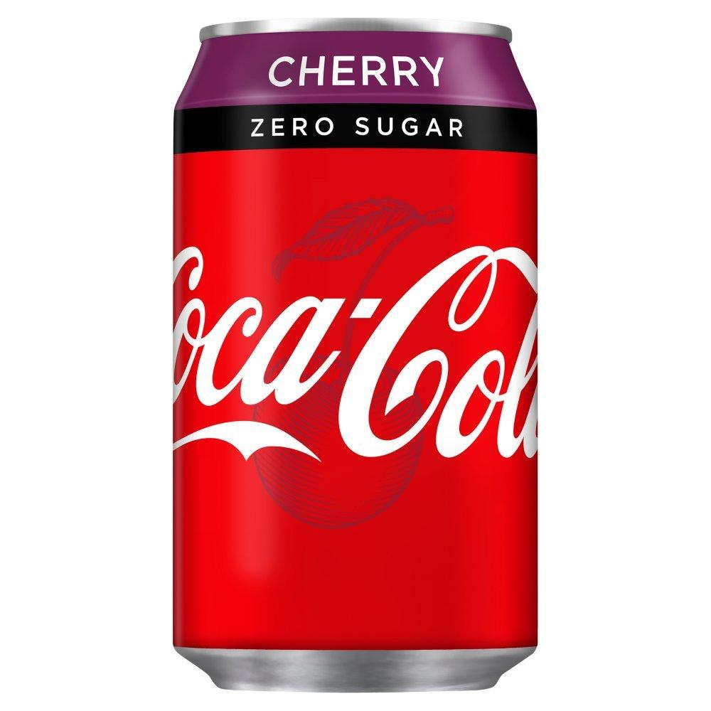Coca Cola Zero Cherry 330ml