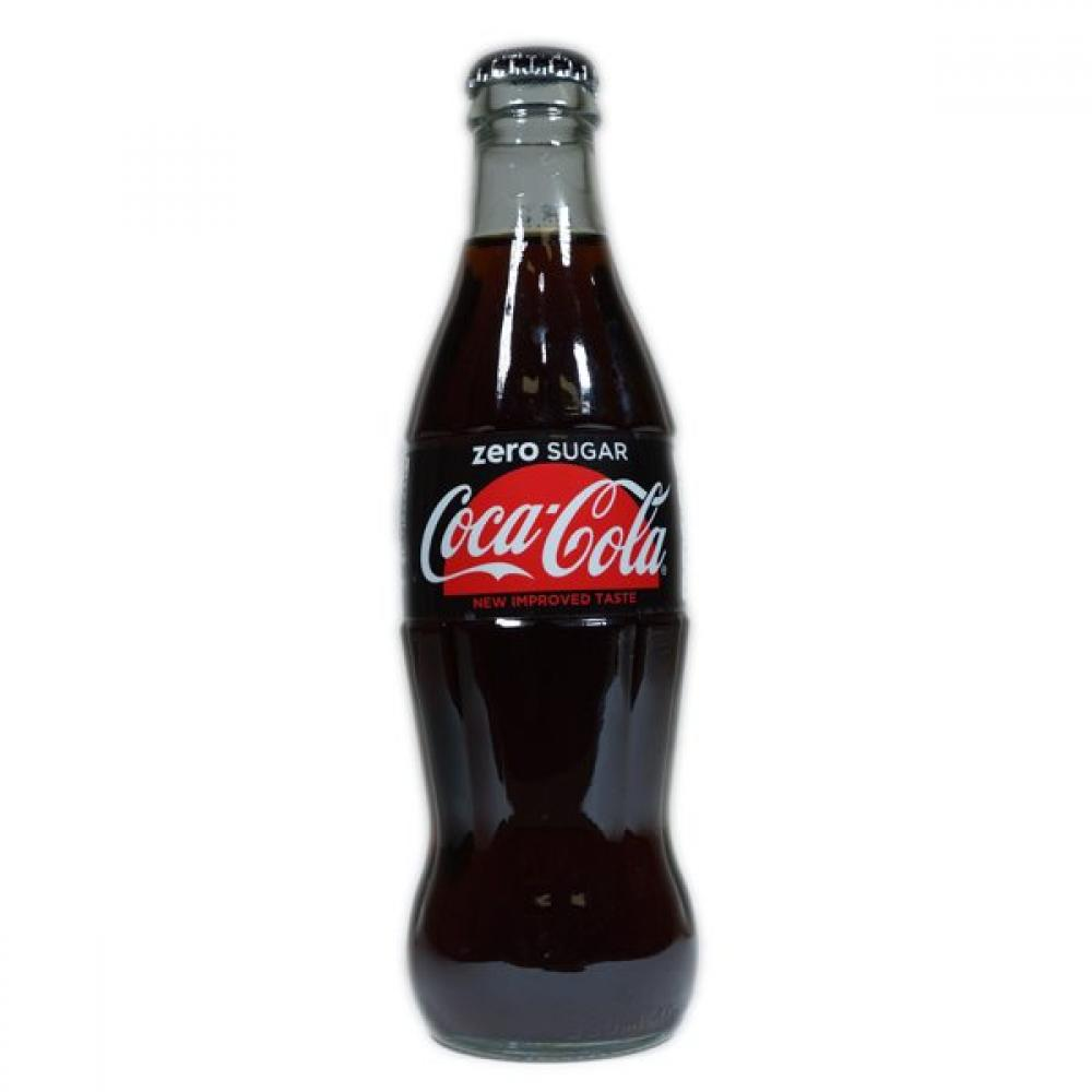 Coca Cola Zero Glass Bottle 330ml