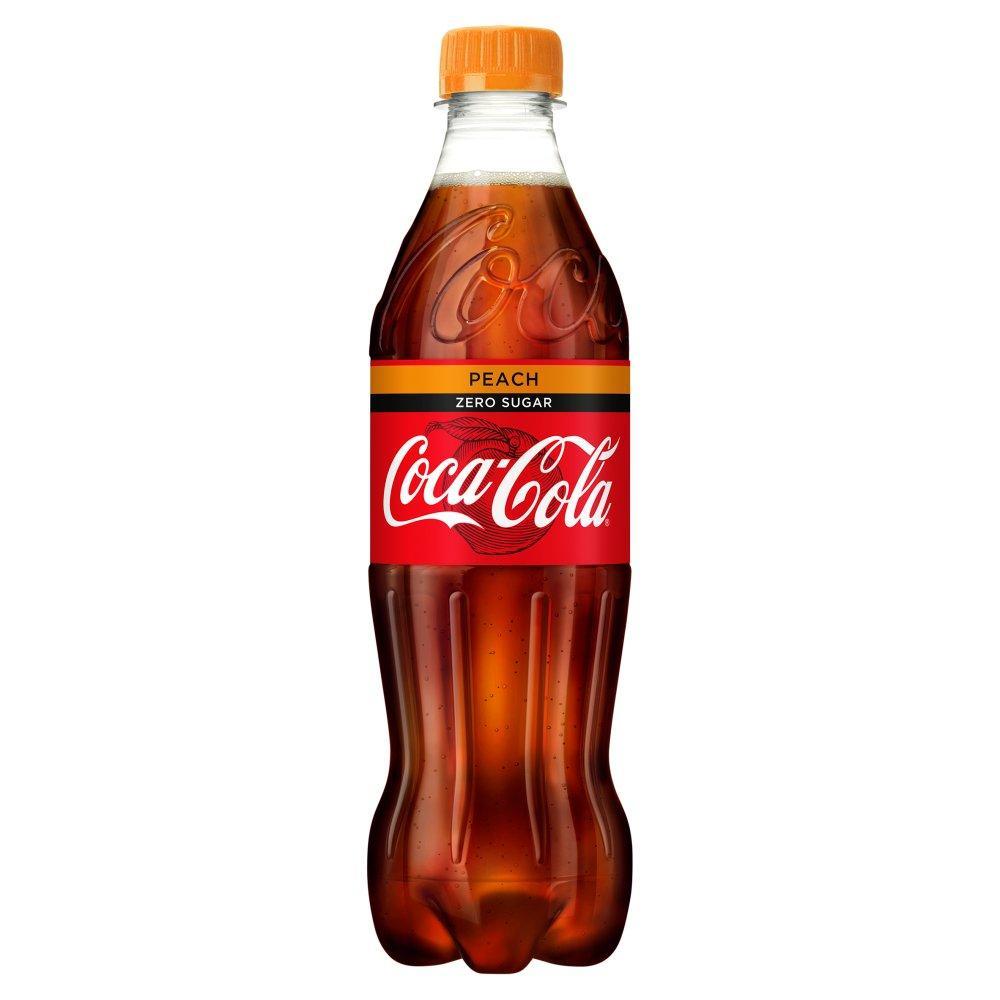 Coca Cola Zero Peach 500ml
