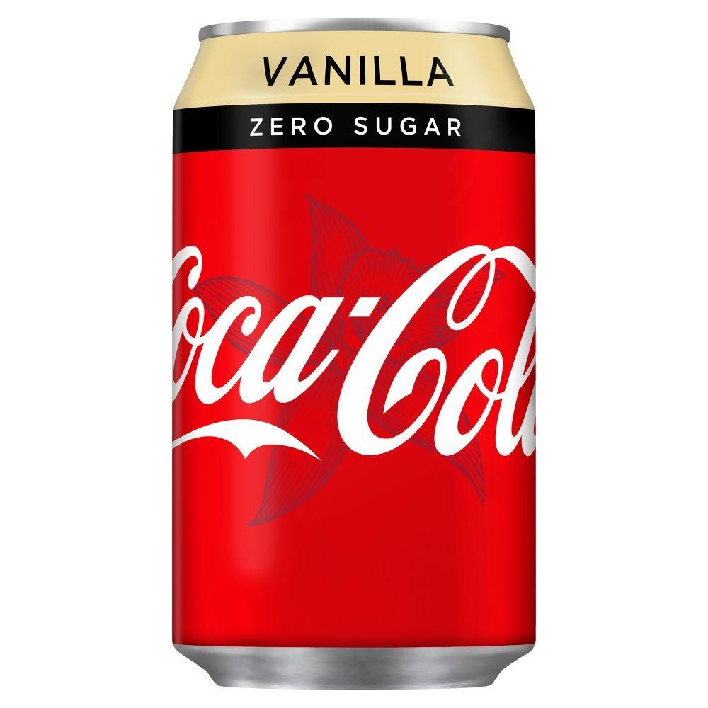 Coca Cola Zero Vanilla 330ml
