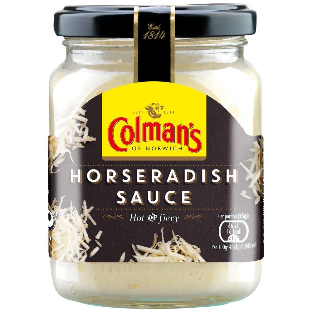 Colmans Horseradish Sauce 136g