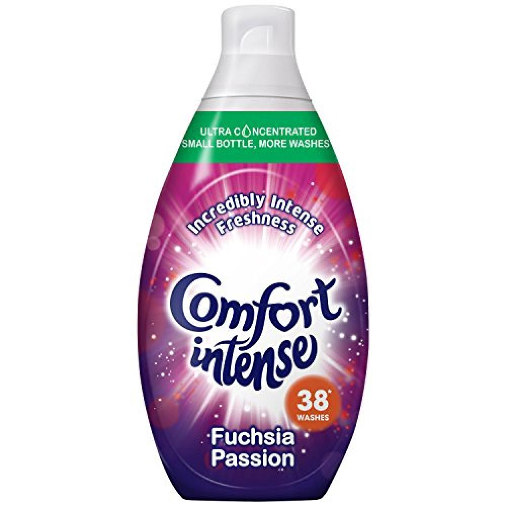 Comfort Intense Fuchsia Passion Fabric Conditioner 38 Washes 570 ml