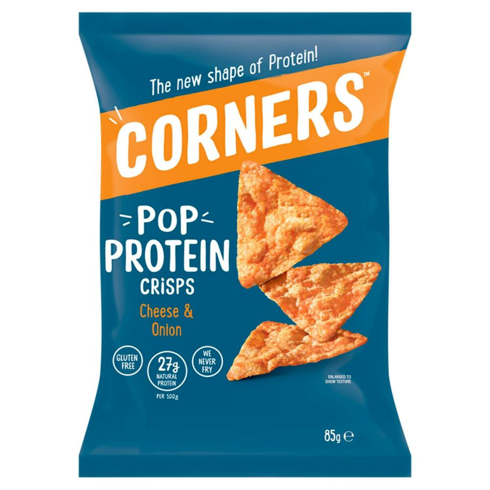 Corners Protein Crisps Cheese and Onion 85g