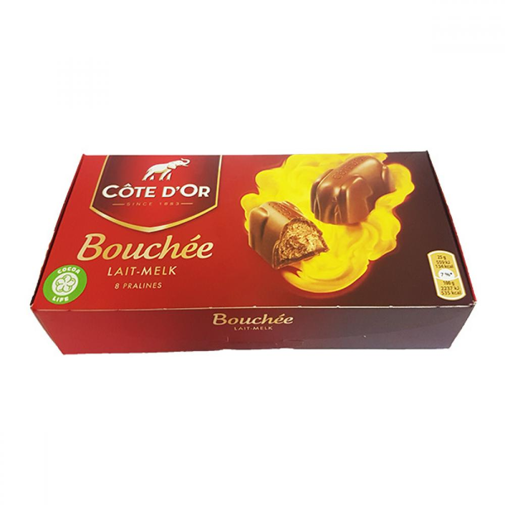 Cote D Or Bouchee Milk Praline Bars 25g X 8 Approved Food