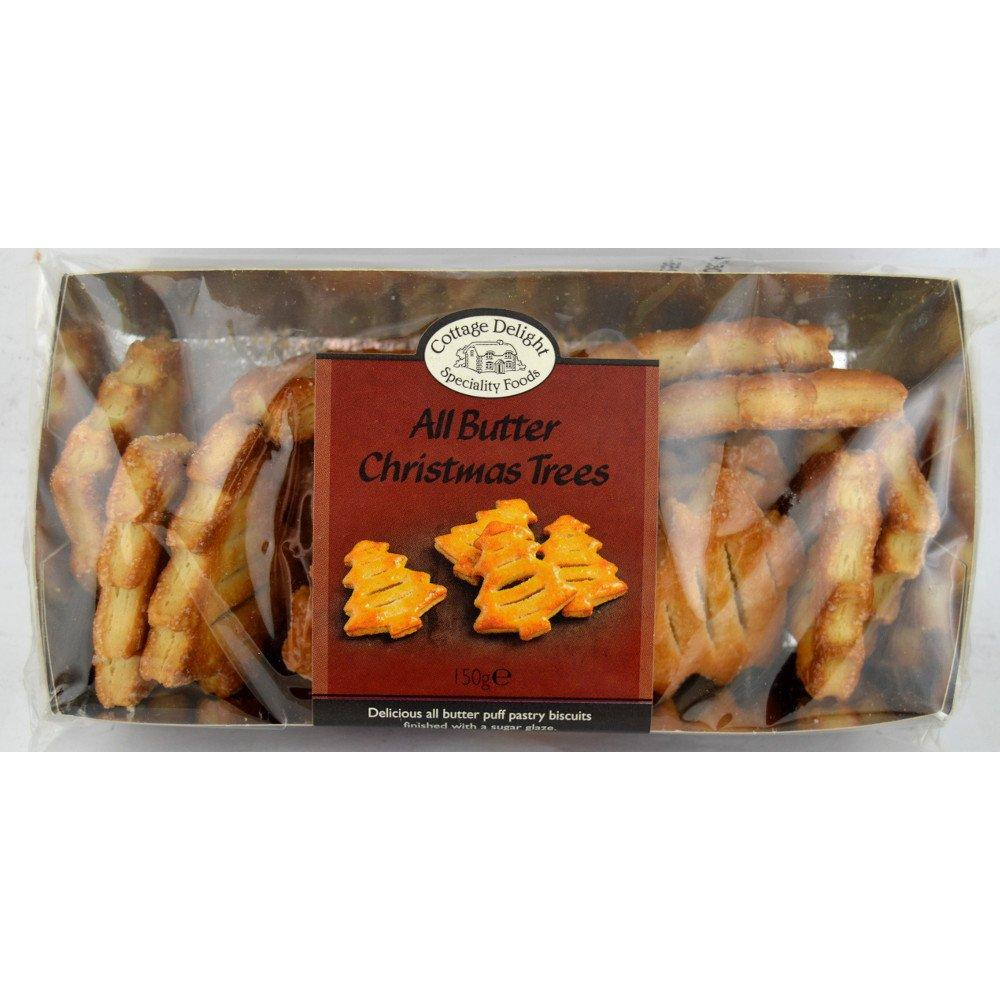 Cottage Delight All Butter Christmas Trees 150g