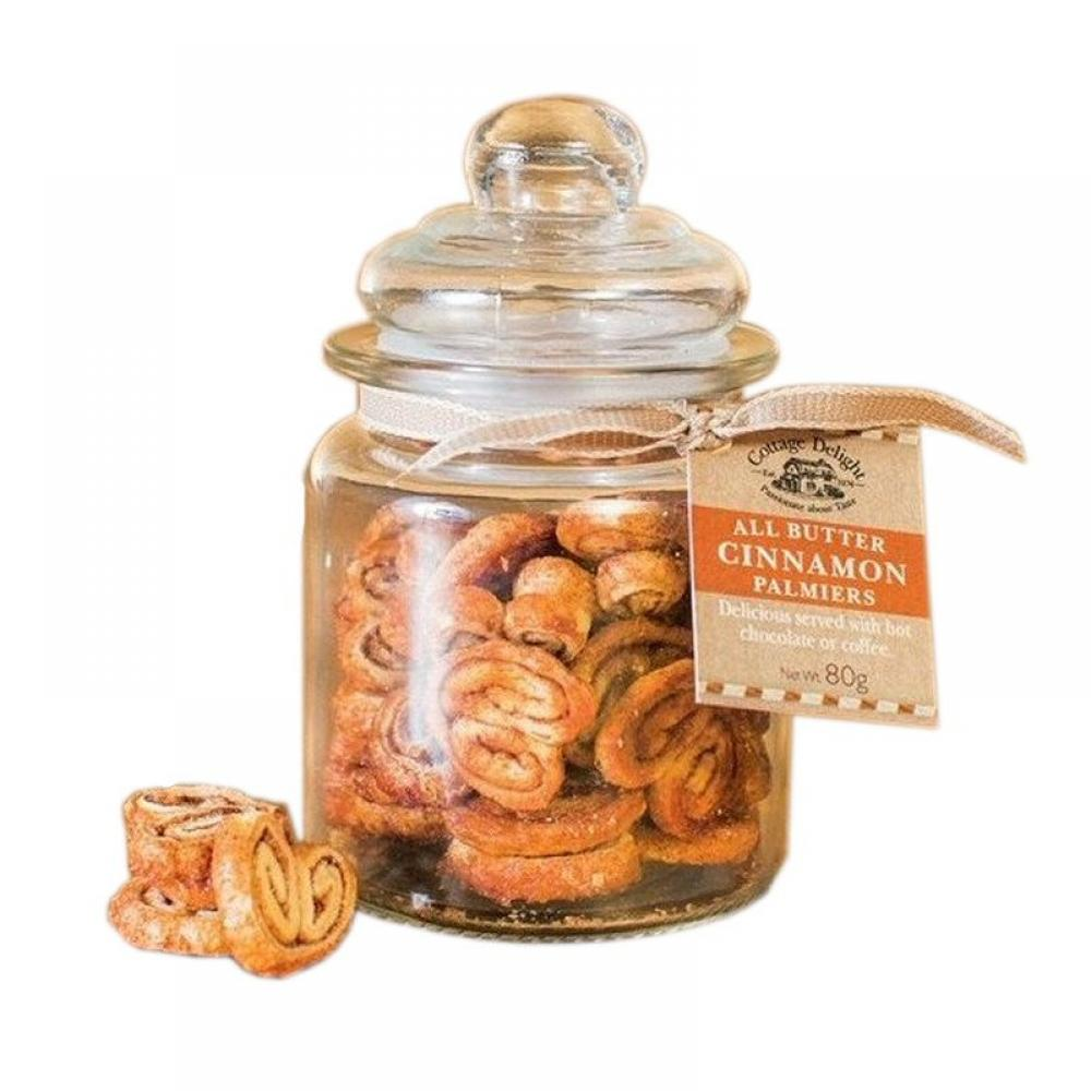 Cottage Delight All Butter Cinnamon Palmiers 80g