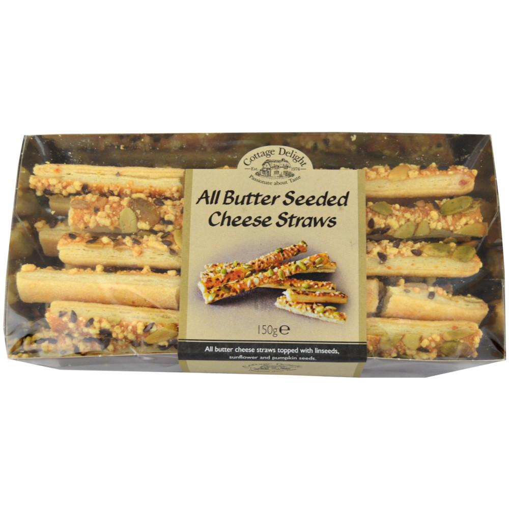 Cottage Delight All Butter Seeded Cheese Straws 150g