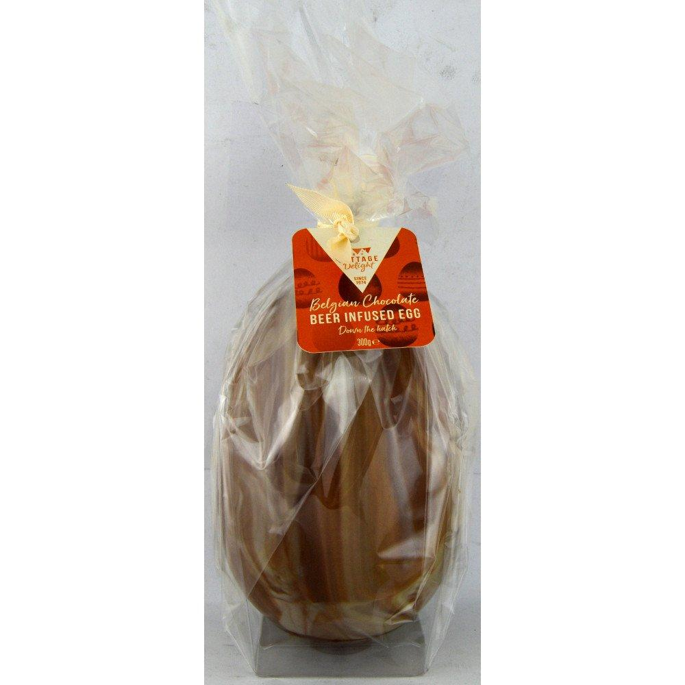 Cottage Delight Belgian Chocolate Beer Infused Egg 300g