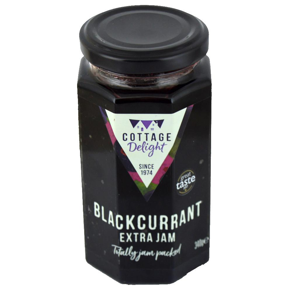 Cottage Delight Blackcurrant Jam 340g