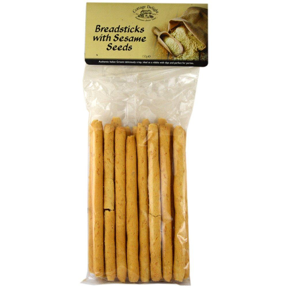 Cottage Delight Breadsticks with Sesame Seeds 150g