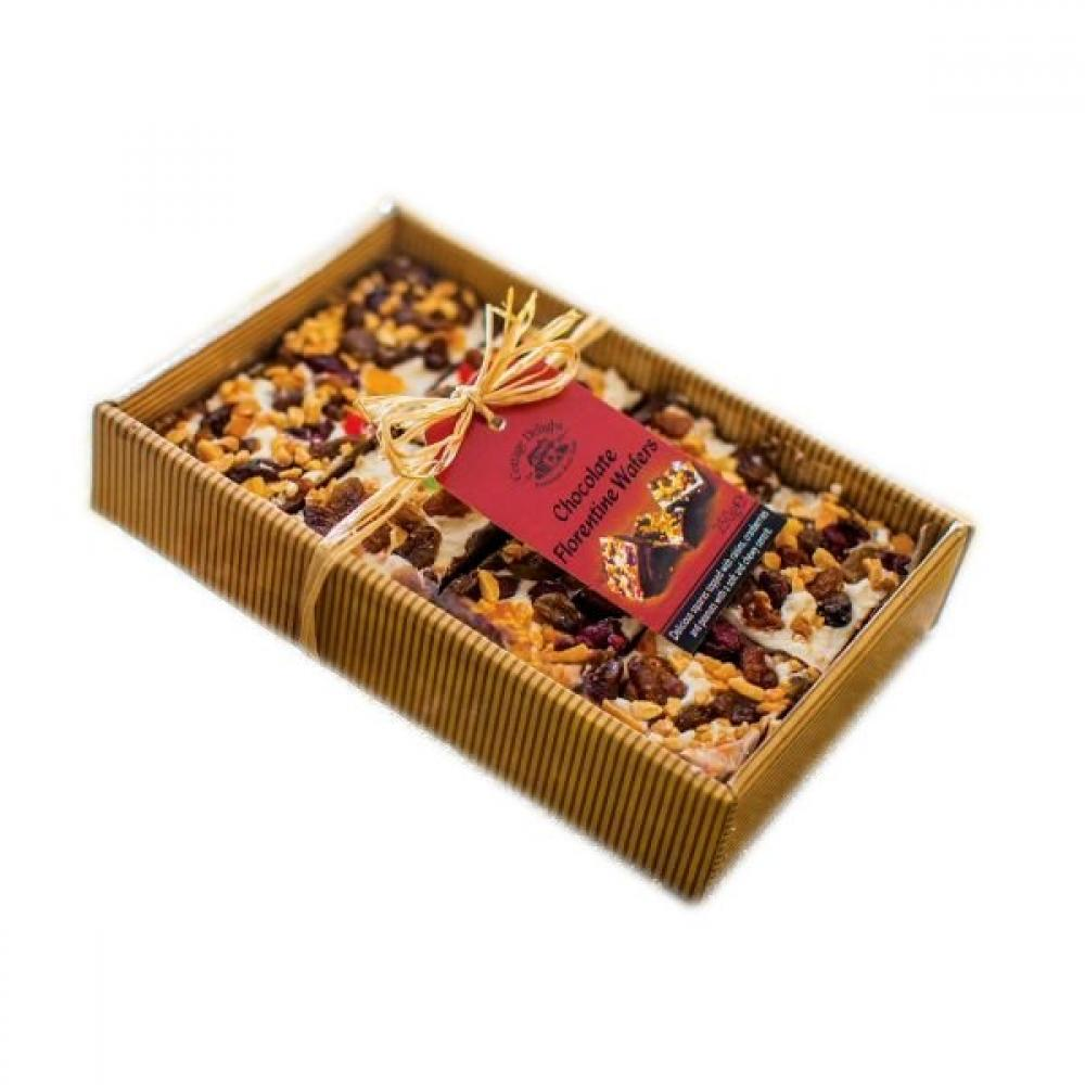 Cottage Delight Chocolate Florentine Wafers 250g