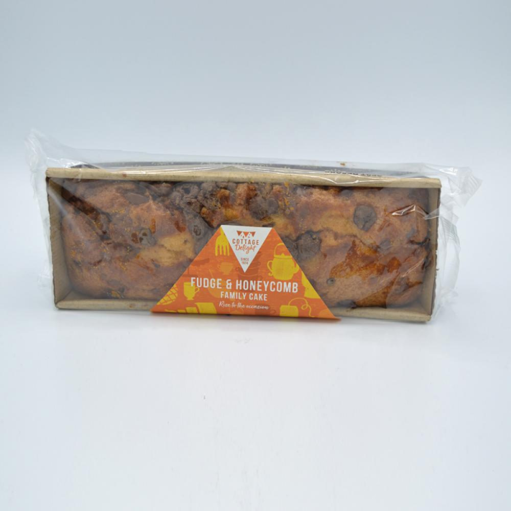 Cottage Delight Fudge and Honeycomb Cake