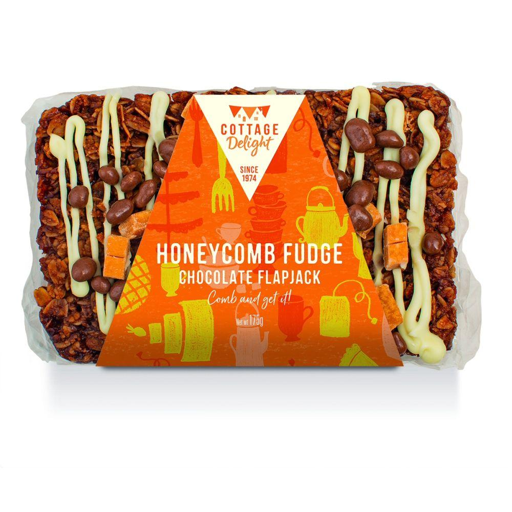 CAKE DEAL  Cottage Delight Honeycomb Fudge Chocolate Flapjack 175g