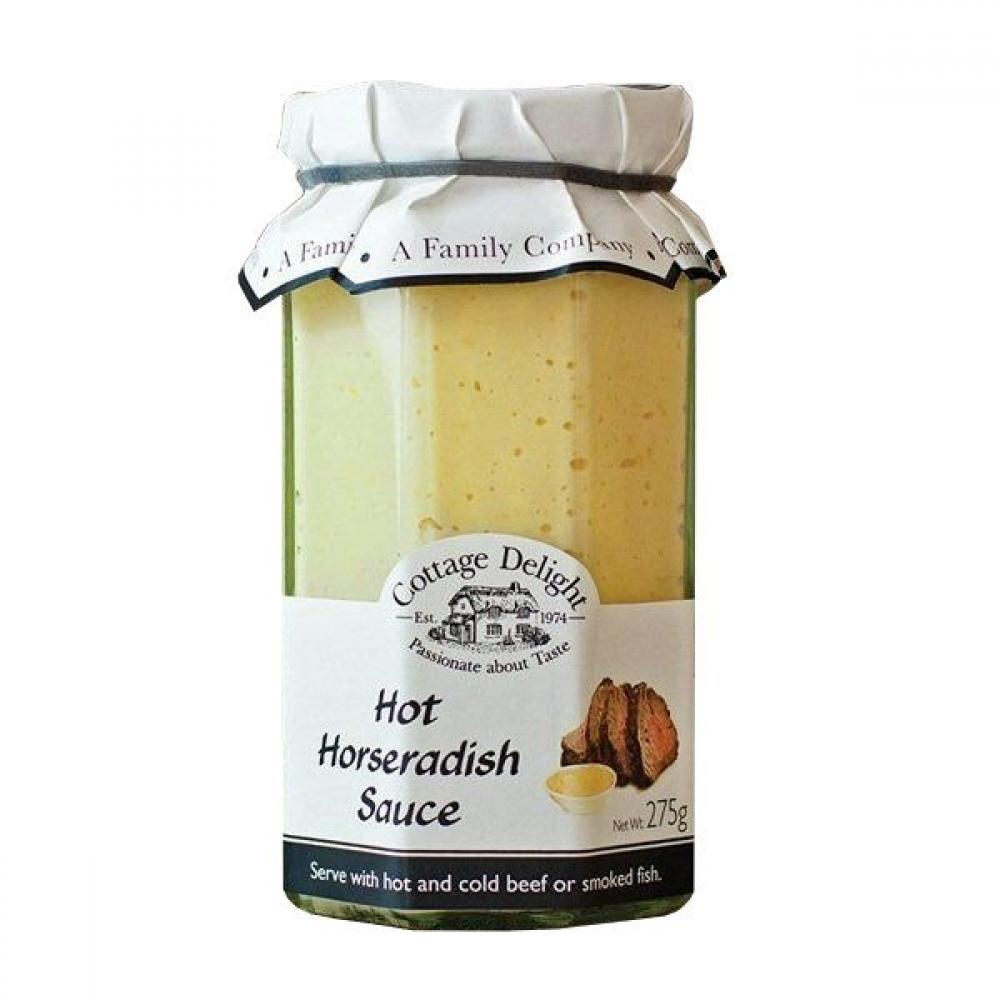 Cottage Delight Hot Horseradish Sauce 275g
