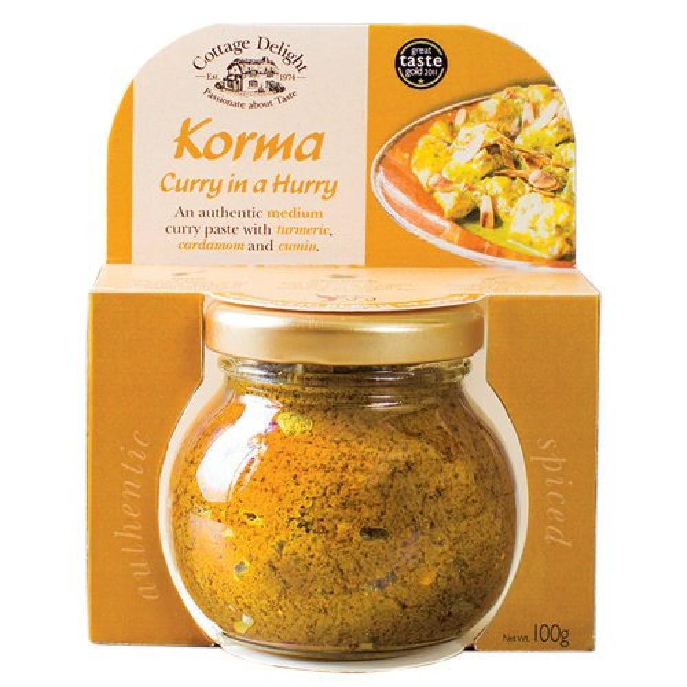 Cottage Delight Korma Curry Paste 100g