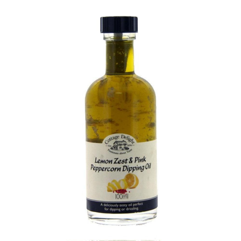 Cottage Delight Lemon Zest and Pink Peppercorn Dipping Oil 100ml