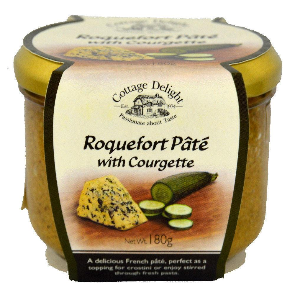 Cottage Delight Roquefort Pate with Courgette 180g